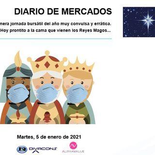 DIARIO DE MERCADOS Martes 5 Enero
