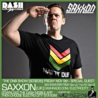 the DNB show S03E06 (guest mix Saxxon)