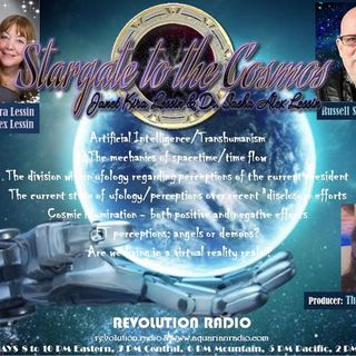 Russell Brinegar~ 07/09/19~Stargate to the Cosmos~ Hosts Janet & Dr Sasha Lessin