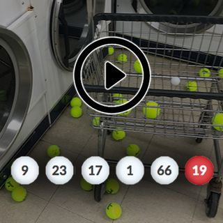 Duryan's laundromat lottery helps pick our numbers!