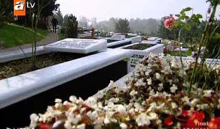 Adanalı - Maraz Ali vuruluyor, Adanalı Maraz Ali'nin mezarında