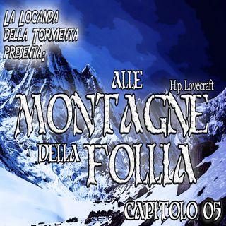 Audiolibro Alle montagne della Follia - HP Lovecraft - Capitolo 05
