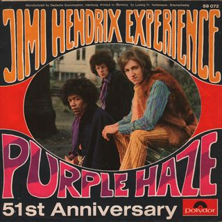 Purple Haze - The Jimi Hendrix Experience (1967)