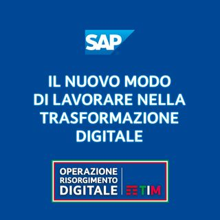 Il nuovo modo di lavorare nella trasformazione digitale