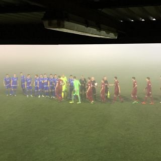 Paulton Rovers v Salisbury FOG Stopped Play