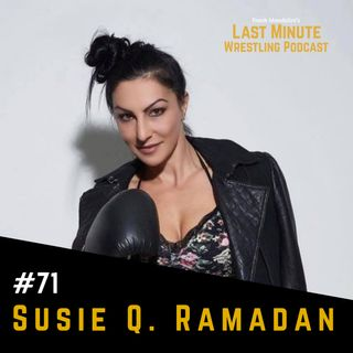 Ep. 71: Interview with Australian women's boxing champion Susie Q Ramadan