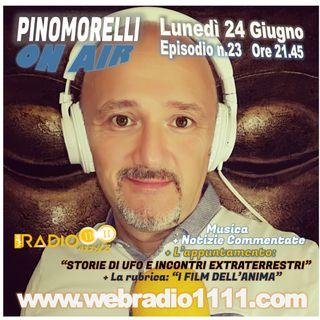"""""""Pino Morelli On Air"""" puntata n.23 di lunedì 24 giugno 2019"""
