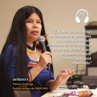 Entrevista a Patricia Gualinga