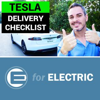 Tesla Delivery Checklist for Model S and X