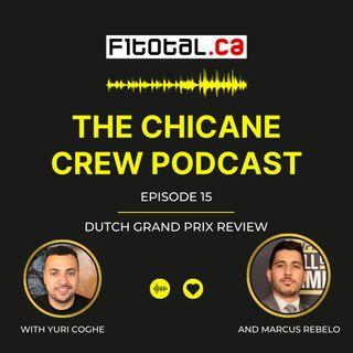 Episode 15 - Dutch Grand Prix Review, Bottas to Alfa Romeo