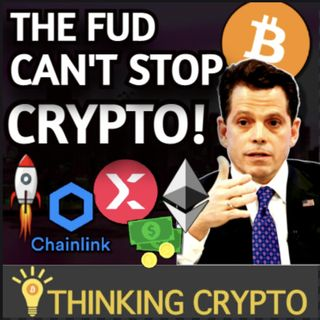 Bitcoin Inflation FUD - Diamond Sold for $12.3M in Crypto - StormX Chainlink - Mooch's Ethereum Fund