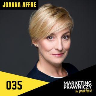 MPP#035 Innowacja w branży prawniczej – Joanna Affre