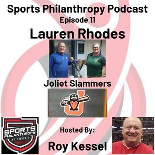 EP: 11  Lauren Rhodes, Joliet Slammers