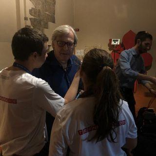 #firenze Intervista a Vittorio SGARBI