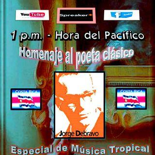 Homenaje al poeta clásico, Jorge Debravo * Costa Rica
