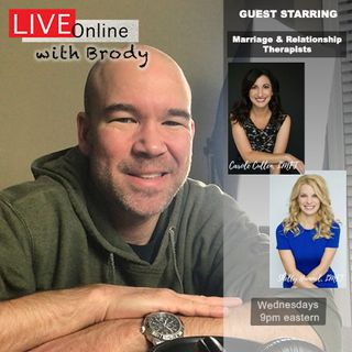 Managing Relationships With Partners & Family During Quarantine - 'LIVE Online With Brody'