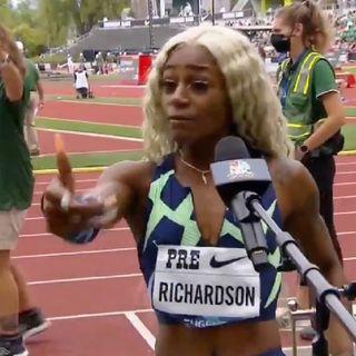 Episode 12 - Shacarri Richardson Imploding!