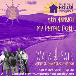 PSA 60 sec: 5th Annual My Purple Path Domedtic Violence Walk