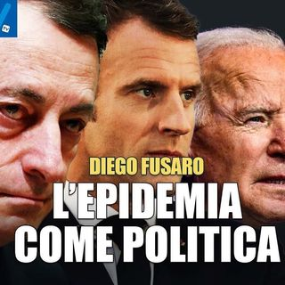 """Diego Fusaro: """"Le oligarchie strumentalizzano l'emergenza per imporre un nuovo paradigma politico"""""""