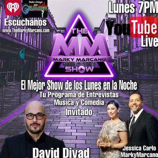 Entrevista David Divad Artista Plastico -TheMarkyMarcanoShow