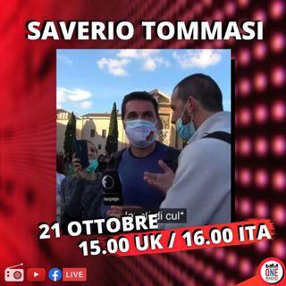 Saverio Tommasi (Fanpage.it) e i retroscena dell'attacco ricevuto dai negazionisti a Roma