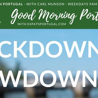 Portuguese Lockdown Update: 14th January 2021 on Good Morning Portugal!