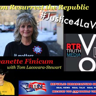 Jeanette Finicum on RTR with Tom Lacovara-Stewart