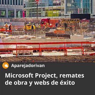 Microsoft Project, remates de obra y webs de éxito