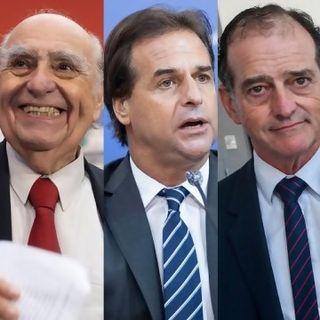 """Lacalle y su reunión """"Quién es la Coalición Tutifruti"""" y """"El día que todos fuimos Mieres"""""""