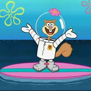 SpongeBob's Sandy Cheeks rises to the surface! INTERVIEW
