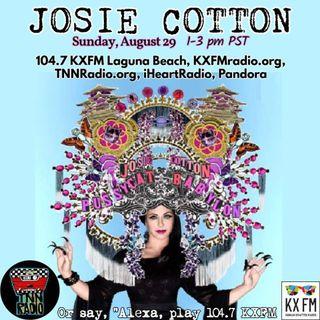 TNN RADIO | August 29, 2021 show with Josie Cotton