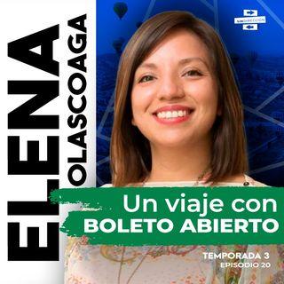 Un viaje con boleto abierto - Elena Olascoaga