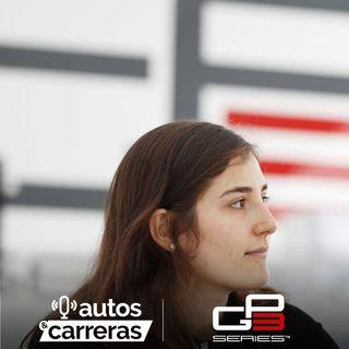Tatiana Calderon en Barcelona con la GP3
