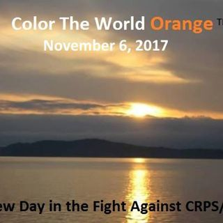 Colour The World Orange Awareness