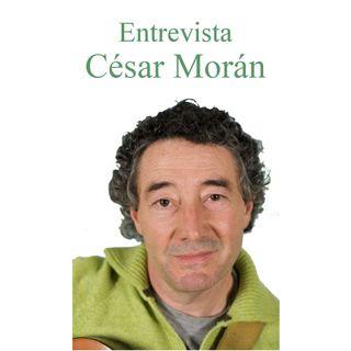 Entrevista a César Morán