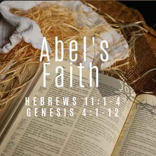 Abel's Faith