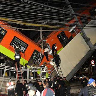 Città del Messico, crolla ponte al passaggio di una metro: 23 morti e 70 feriti