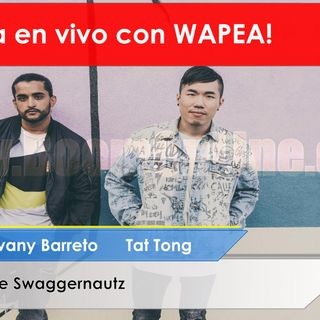 Entrevista con WAPEA Jovany Barreto Tat Tong  The Swaggernautz ##WAPEA #WAPEAMAMI #wapeaaliens