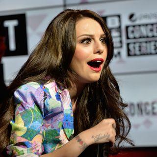 Cher Lloyd Hangs with Maxwell!