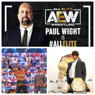 The Wrestle Report #19: Bobby Lashley is WWE Champion, Paul White to AEW & NJPW Title unification