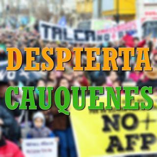 #DespiertaCauquenes: No + AFPs / Condena amenazas a dirigentes sociales