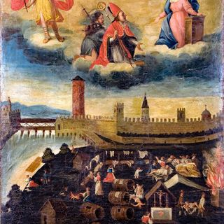 Il gonfalone votivo della peste del 1630