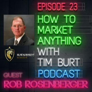 Ep. 23: Rob Rosenberger - Gig Economy, meet Government contracts.