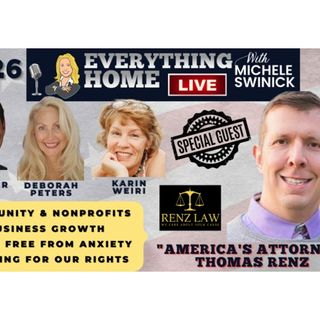 226 LIVE: Attorney Thomas Renz - Freedom Fighter + Community, Growth, Anxiety