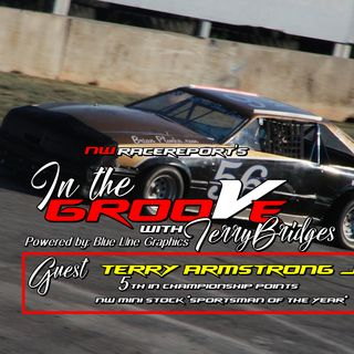 Ep#9-In the Groove w/NWMS driver Terry Armstrong Jr.
