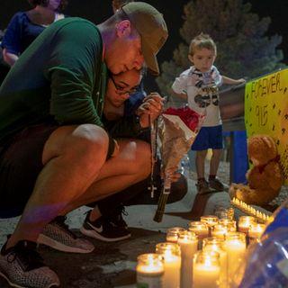 Memorial dedicado a víctimas de El Paso