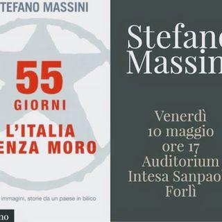 Incontri con l'Autore: Stefano Massini, 55 giorni l'Italia senza Moro