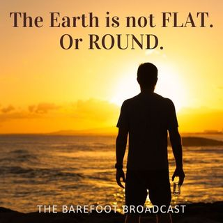 The Earth is not FLAT. Or round.