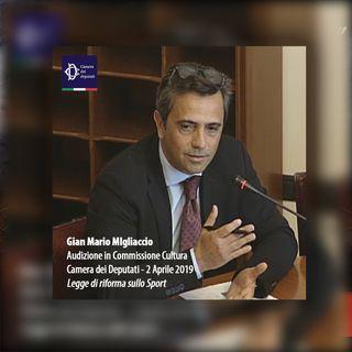 Camera dei Deputati | Il mio intervento in Commissione sullo Sport