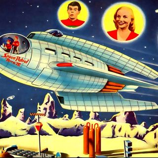 Space Patrol - Episode 127 - The Monster from the Past